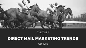 AC Print Ltd South Devon Top 3 Direct Mail Marketing Trends 2016