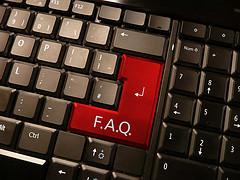FAQ Keyboard Button