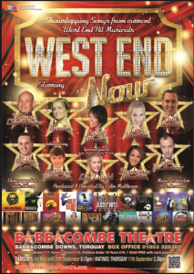 Babbacombe Theatre West End Poster