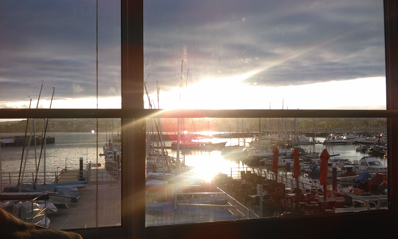 #TorbayHour live tweetup. The view from #Unit7