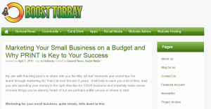 AC Print Ltd commercial printer guest blog for Boost Torbay Small Business Marketing