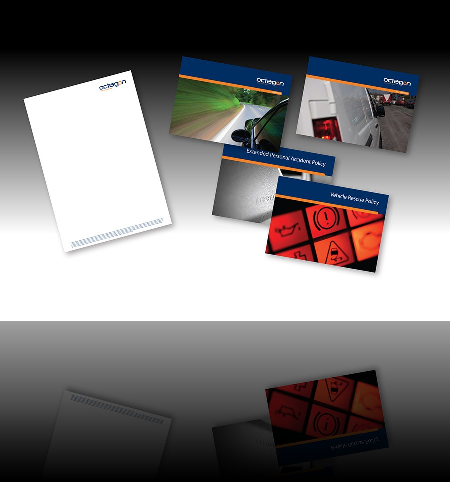 Letterheads and business cards commercially printed using digital print by AC Print Ltd Devon