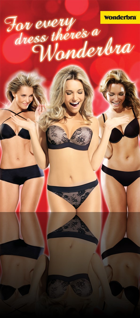 Wonderbra Large Format Poster by AC Print Ltd Devon