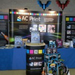 Exhibition stand exhibition graphics by AC Print Ltd Torbay