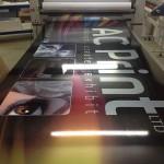 Large format print PVC Banner by AC Print Ltd South Devon