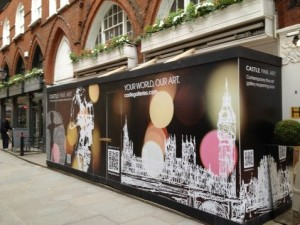 Wide format print / large format printing shop window by AC Print Ltd