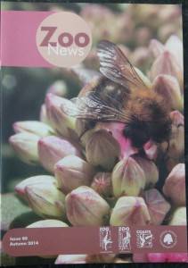 Zoo News Magazine printed by AC Print Ltd Paignton nr Newton Abbot