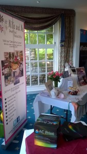 Millie and Me stand at #BrixBizShow with their delicious cakes