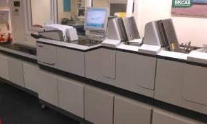 Neopost direct mail machine at AC Print Ltd Devon