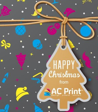 Christmas Wishes from AC Print Ltd commercial business printing UK
