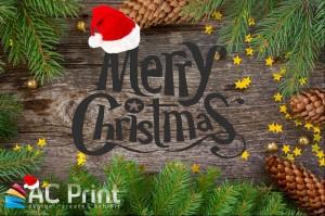 Merry Christmas from AC Print Ltd Business Printing Devon
